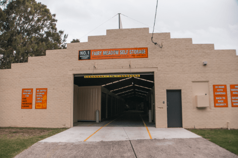 Main Entrance of Storage Facility