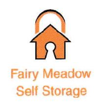 Fairy Meadow Self Storage Logo